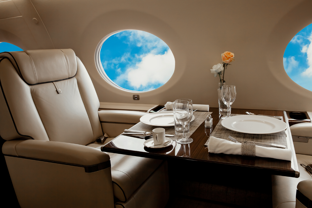 Chartering a Private Jet Versus Flying Commercial: The Real Costs of Each